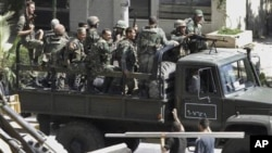 ادامۀ سرکوبی احتجاج کنندگان در سوریه