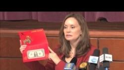 美财政部铸推出中国龙年吉利钱