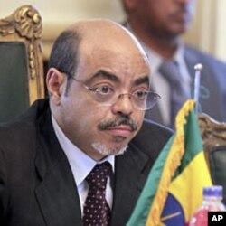 Ethiopia's Prime Minister Meles Zenawi. (file photo)