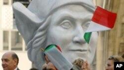 Un défilé du Columbus Day