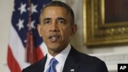 Presiden Obama Kamis (19/12) meringankan hukuman penjara terhadap 8 orang warga AS pengguna shabu-shabu (foto: dok).
