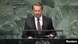 بوسنیا کے صدر باقر عزت بیگووچ (فائل فوٹو)