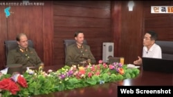북한에 생존한 유일한 월북 미군이었던 제임스 드레스녹 씨의 두 아들이 지난 18일 북한의 대외선전용 매체 `우리민족끼리'에 출연해 아버지 제임스 드레스녹이 뇌졸중 치료를 받다가 사망했다고 밝히고 있다.