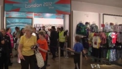 Olympic Fans Head to the Shops
