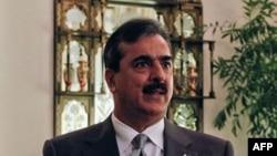 Thủ tướng Pakistan Yusuf Gilani trong cuộc phỏng vấn với Reuters tại Islamabad, ngày 27/9/2011
