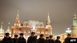 Манежная площадь 11 января 2011 года