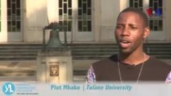 Plot Mhako, The Mandela Washington Fellowship - Young Africa Leaders Initiative (YALI)
