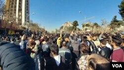 伊朗第二大城市馬什哈德的抗議活動