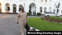 Tundu Lissu, umunyepolitike atavuga rumwe na reta ya Tanzaniya.