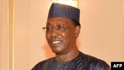 Le président Idriss Déby du Tchad à N'Djamena, Tchad, 12 mars 2018.