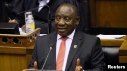 Umongameli Cyril Ramaphosa wakwele South Africa