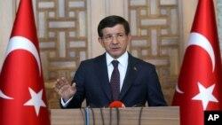 Firayim Ministan Turkiya Ahmed Davutogglu