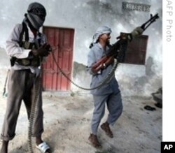 Somali Islamist fighters