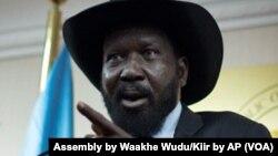 Shugaban Sudan Ta Kudu Salva Kiir.