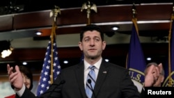 Ketua DPR AS, Paul Ryan. (Foto: dok).