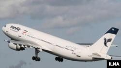 کارشناسنان آمریکایی می گویند ایران از هواپیماهای مسافربری برای مقاصد نظامی استفاده می کند.