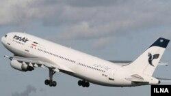 یک هواپیمای مسافربری ایران ایر