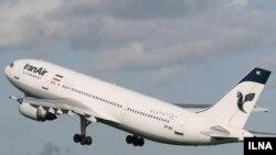 یک فروند هواپیمای مسافربری متعلق به شرکت هواپیمایی جمهوری اسلامی ایران، ایران ایر