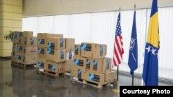 NATO and US donation to Bosnia and Herzegovina