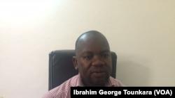 Maître Yacouba Doumbia du Midh souhaite que le procès de Laurent Gbagbo aille jusqu'à son terme et que toutes les parties soient entendues, le 12 octobre 2017. (VOA/Ibrahim George Tounkara)