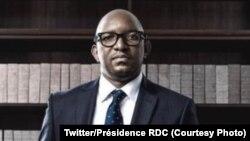 Ministre wa Yambo ya sika ya RDC Jean-Michel Sama Lukombe, 15 février 2021. (Twitter/Président RDC)