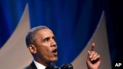 Predsednik Obama govori u Kongresnom crnačkom kokusu, 27. septembar, 2014.