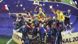 Faransa Ta Lashe Gasar Cin Kofin Duniya Na FIFA Na Shekarar 2018