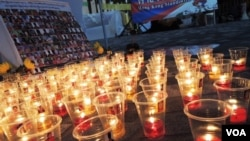 香港與西藏同行舉辦燭光晚會悼念超過100位自焚藏人