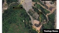 북한 풍계리 핵실험장 (38노스, 8월4일 촬영 상업용 위성사진)