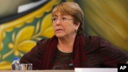 Komisaris Tinggi PBB untuk Hak Asasi Manusia, Michele Bachelet