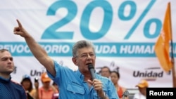 La oposición no ha desistido de realizar su protesta para demandar el revocatorio con una marcha el 1 de septiembre.