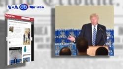 Ông Trump bị linh mục cảnh cáo (VOA 60)