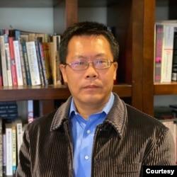 中国人权律师滕彪。(照片由本人提供)