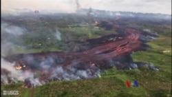 2018-05-21 美國之音視頻新聞: 夏威夷火山熔岩造成衛生危機