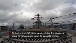 Barco de EE.UU.ataca posiciones de radares en Yemen