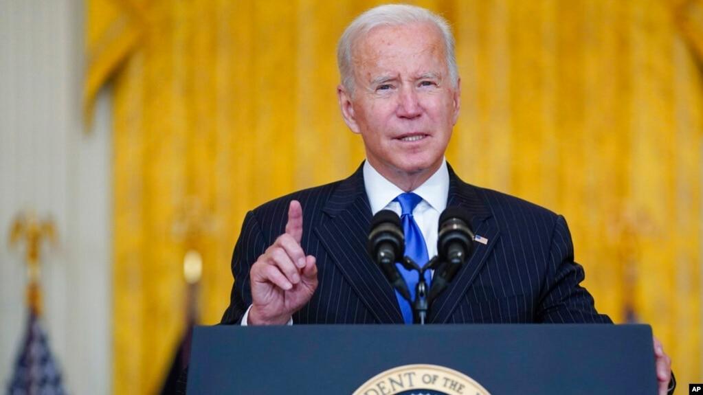 Tổng thống Mỹ Joe Biden tại Nhà Trắng hôm 13/10/2021.