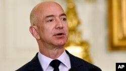 Jeff Bezos, fondateur et CEO de Amazon.com