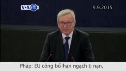 Châu Âu công bố hạn ngạch tị nạn (VOA60)