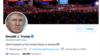 Conta pessoas do Presidente Donald Trump no Twitter