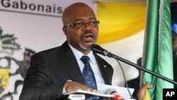 FILE - Gabon opposition leader Andre Mba Obame has been frequently absent from the central African country for health reasons in recent years, so it's not clear who will lead the Union Nationale.