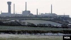 Vista general de la planta nuclear de Sellafield, en Seascale, al norte de Inglaterra.