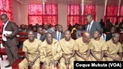 Réus do caso Kalupeteca, Tribunal Provincial de Huambo, Angola