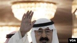 Raja Arab Saudi, Abdullah Bin Abdul Aziz.
