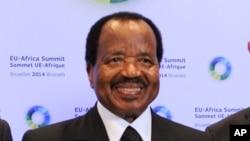 Shugaban Kamaru Paul Biya wanda yanzu ya kwashe shekaru 34 yana mulkin kasar kuma yana neman zarcewa na wasu shekaru bakwai