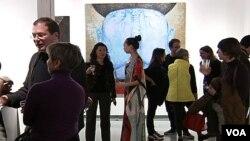 Открытие выставки Зорикто Доржиева в Нью-Йорке