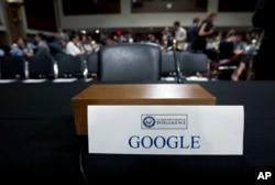 Порожній стілець представника компанії Google на слуханнях