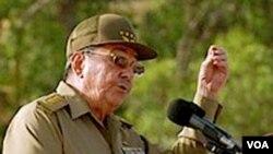 Raul Castro se dirige al pueblo cubano en conmemoración del 26 de julio.