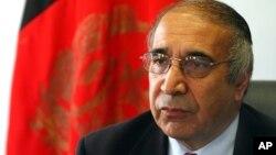 Afg'oniston sobiq ichki ishlar vaziri Ali Jaloliy