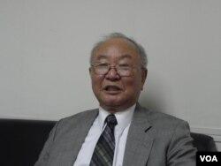 世界台湾人大会秘书长 王康厚(申华拍摄)