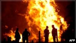 Ðường ống dẫn khí của Ai Cập bị cháy trong vụ tấn công hồi tháng 7